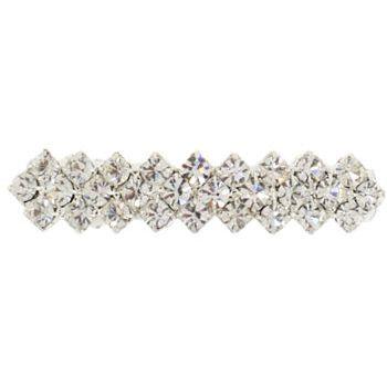 Karen Marie - Bridal Collection - Antique Crystal ZigZag Barrette (1)