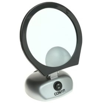 beauty products and accessories conair lighted travel makeup mirror. Black Bedroom Furniture Sets. Home Design Ideas
