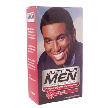 Just For Men - Shampoo-In Haircolor - Real Black #55 (1 Application)