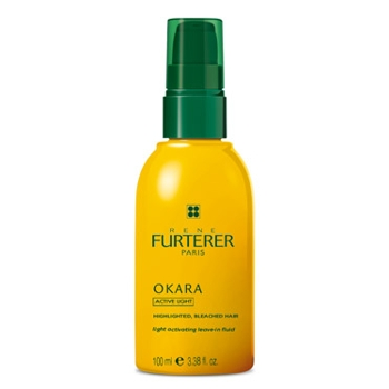Rene Furterer - Okara Light Activating Leave In Conditioning Fluid - For Bleached Or Highlighted Hair 6.76 fl oz