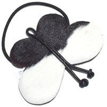 Jane Tran - Butterfly Leather Pony w/Ponyhair - Black (1) :  fashion butterfly hair boutique hairboutique