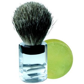 Tweezerman - Women's Shaving Brush w/ Soap :  tweezerman glycerin soap hair boutique hairboutique