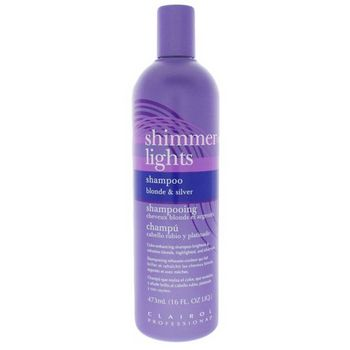 CLAIROL - Professional - Shimmer Lights - Shampoo for Blonde and Silver Hair 16 fl oz (473ml)