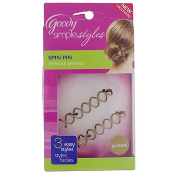 Goody - Simple Styles - Spin Pin - Blonde (1)