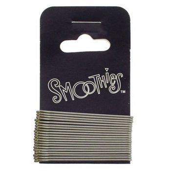 Smoothies - Fine Bob Pins - Platinum