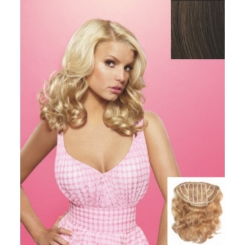 HairDo -  18inch Wavy Vibralite Synthetic Extensions (Color: R10 Chestnut)