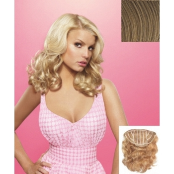 HairDo -  18inch Wavy Vibralite Synthetic Extensions (Color: R1416T Buttered Toast)
