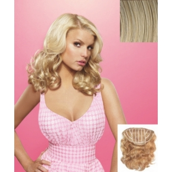 HairDo -  18inch Wavy Vibralite Synthetic Extensions (Color: R21T Sandy Blonde)