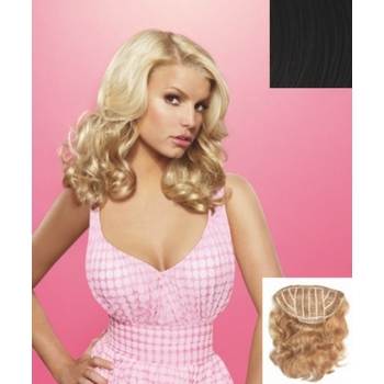HairDo -  18inch Wavy Vibralite Synthetic Extensions (Color: R4 Midnight Brown)