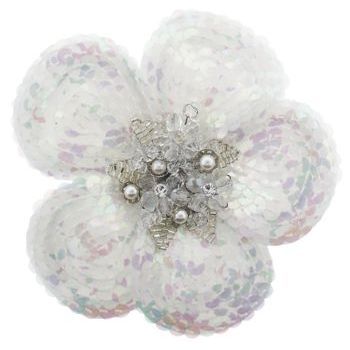 Balu - In-Snow Flower Brooch Pin (1)