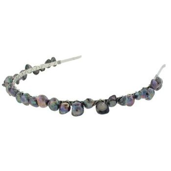 Balu - Headband w/Pearls - Black Onyx (1)