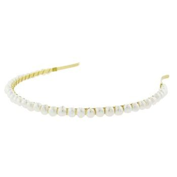 Balu - Headband w/Pearls - White (1)