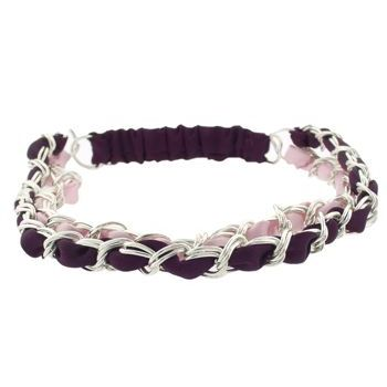 Balu - Double Link Headband - Plum/Pink (1)