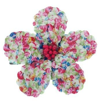 Balu - Sequin Flower Clip - Multi-Color (1)