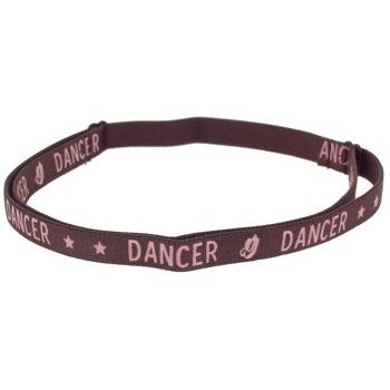 HB HairJewels - Lucy Collection - Dancer Bra Strap Headband - Chocolate (1)