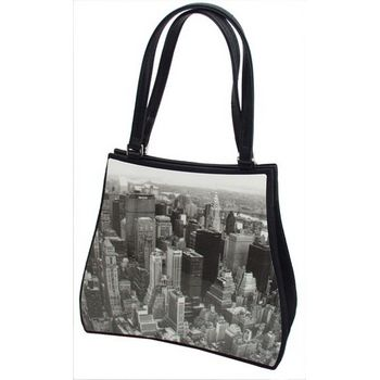 Karen Marie - Boutique Bags - New York Skyline Acrylic Pop-Art Tote