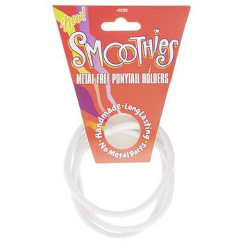 Smoothies - Metal Free Pony - White