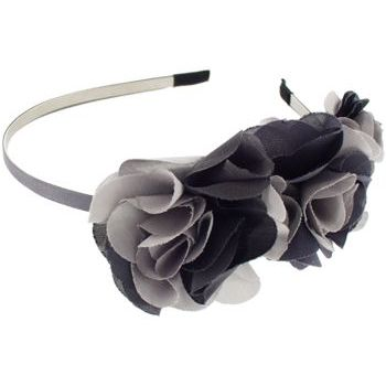 SOHO BEAT - Tea Party Collection - Rose Flower Headband - Smoke