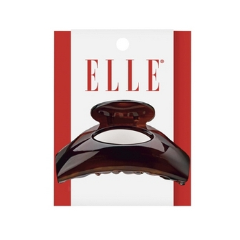 Elle & Elle Girl - Oval Cutout Tort Jaw Clip