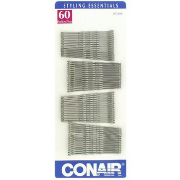 Conair Accessories - Bobby Pins - 60 pc - Silver