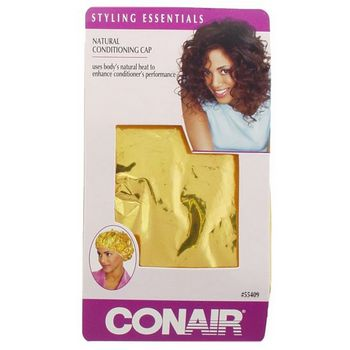 Conair - Natural Conditioning Cap - Gold - 1 Piece