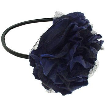 SBNY Accessories - Marigold Headband - Royal Blue and Raven Black