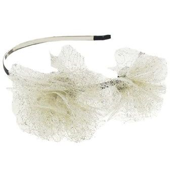 SBNY Accessories - Couture - Double Madder - Double Lace Blossom Headband - Gold