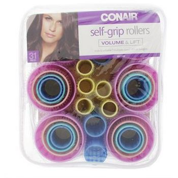 Conair - Self Grip Rollers - 31 Pack Assorted 5 Sizes
