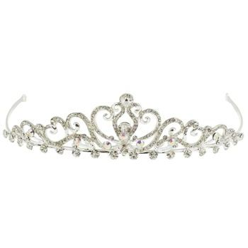 Betty Wales - Regal Heart Crystal Tiara(1)