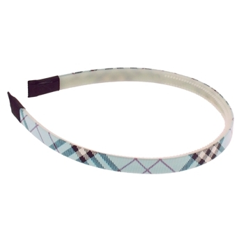 HB HairJewels - Lucy Collection - Skinny Prep Headband - Blueberry (1)