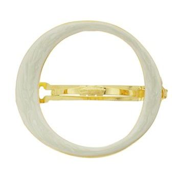 Ficcare - O Design Barrette - Honey Marble (1)