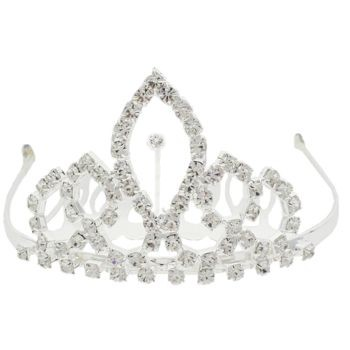 Karen Marie - Bridal Collection - Crystal Flame Tiara (1)
