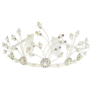 Karen Marie - Bridal Collection - Whimsical Flower Tiara (1)
