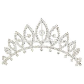 Karen Marie - Bridal Collection - Marquis Crystal Tiara Comb (1)