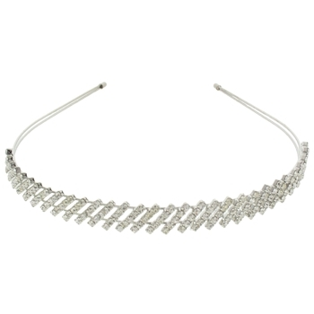 Medusa's Heirlooms - Diagonal Crystal Headband (1)