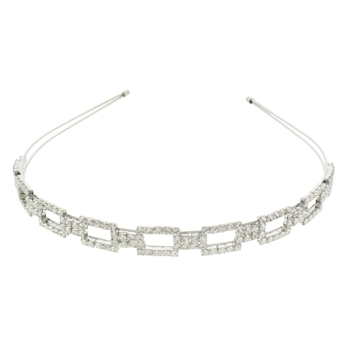 Medusa's Heirlooms - Rectangle Crystal Headband (1)