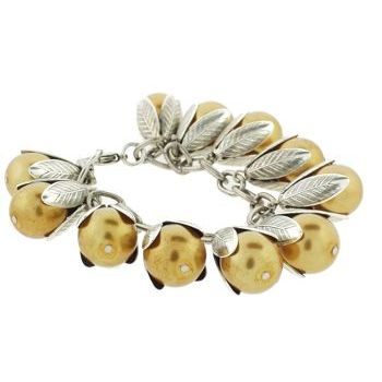 Dame Design - Beadcap Bracelet - Gold and Silver (1)