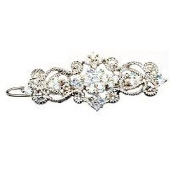 Betty Wales - Crystal Wire Barrette