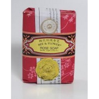 Bee & Flower Bar Soap - Rose - 2.65 Oz