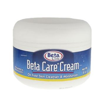 Beta Dermaceuticals - Cream - Oil Free Cleanser, Moisturizer, and MakeUp Remover 8 oz