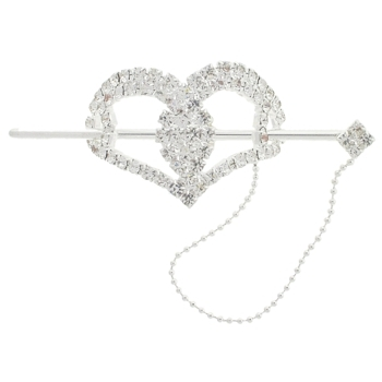 Karen Marie - Bridal Collection - Crystal Heart Slide (1)