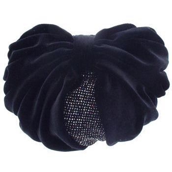 Karen Marie - Snood Collection - Large Velvet Snood with Glittered Lining - Black Opal