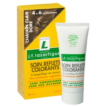 JF Lazartigue - Colour Reflecting Hair Conditioner - 3.4  fl. oz. - Light Golden Chestnut