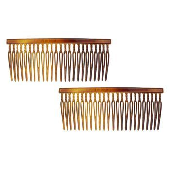 Camila - Thin Side Combs - Tort