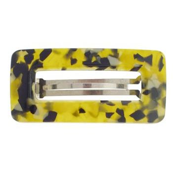 Camila - Buckle Barrette - Golden/Black Marble
