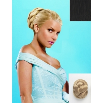 HairDo - Chignon Synthetic Updo (Color: R2 Ebony)