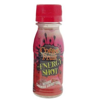 Fruitology - Coffee Fruit - Energy Shot - Chocolate Cherry 2.5 fl oz (74ml)