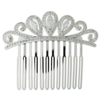 Karen Marie - Bridal Collection - Regal Tiara Side Comb (1)