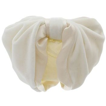 Karen Marie - Snood Collection - Velvet & Satin - Ivory