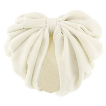 Karen Marie - Snood Collection - Large Velvet Snood - Ivory